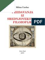 7 MilanUzelac Predavanja Iz Srednjovekovne Filozofije