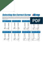 Selecting the Correct Screw