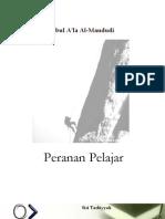 Peranan Pelajar Oleh Al Maududi