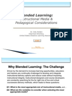 Developing a Blended Learning Strategy Instructional Media Pedagogical Considerations 2908