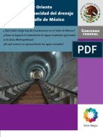 Folleto El Tunel Emisor Oriente