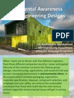 Environmental Awareness in Civil Engineering Designs