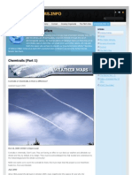 Chemtrails (Part 1) - Weatherwars-Info-