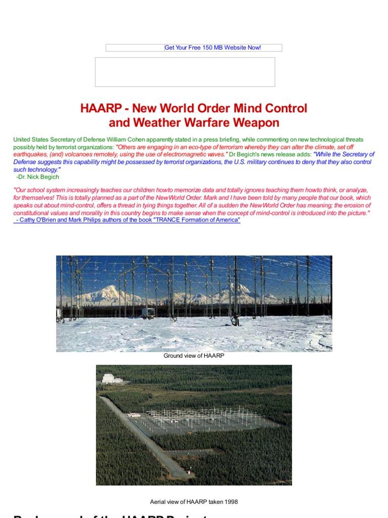 Strahlenfolter Haarp New World Order Mind Control Www Gbppr Electromagnetic Pulse Experiments Circuit Theforbiddenknowledge Com Van Allen Radiation Belt Ionosphere