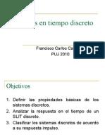 Sistemas en Tiempo Discreto 2011-3