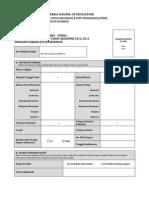 Formulir ran Sse 2012 Ver 1