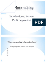 Note-Taking PPT Lesson 1
