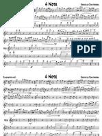 Roccuzzo Dino Andrea - 4 Note (Marcia per banda - Parti)