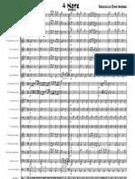 Roccuzzo Dino Andrea - 4 Note (Marcia per banda - Partitura)