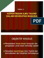 Fasal 3