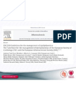 ESC EAS Guidelines for the Management of Dyslipidaemias -Slideset
