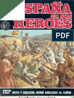 Royo y Guiloche. Morir abrazado al cañon (España en sus heroes 1)