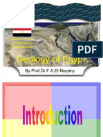 Geology of Egypt Dr.fathe