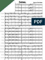 Roccuzzo Dino Andrea - Carosel (Marcia per banda - Partitura)