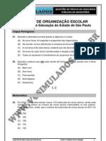AGENTE DE ORGANIZAÇÃO ESCOLAR - SEEP/SP 2012