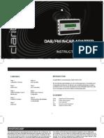 ClarityCDAB7 Manual