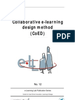 Collaborative E-learning Design Method