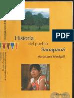 HISTORIA DEL PUEBLO SANAPANÁ - MARÍA LAURA PRINCIGALLI - PARAGUAY - PORTALGUARANI