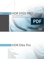 HDREfexPro UserGuide