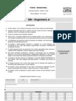 Prova Itaipú 306 – Engenheiro Jr