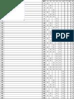 Tabela de Formação de Decimais por Binários
