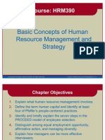 Basic HRM & Strategy