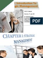 Stategic Management