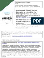 Gardner Psa and the Distinction