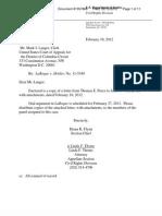 DOJ Laroque Letter (2!10!2012)