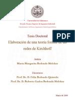 DFIRM RedondoMelchor MM TeoriaformaldredesKirchhoff