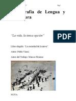 Monografía de Lengua y Literatura