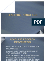 33 - Leaching Principles