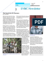 The Search for El Chocuaco, from SVBC Newsletter, Vol 2-No 1 (Aug 2007)