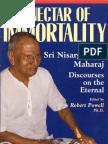 Sri Nisargadatta Maharaj ~ The Nectar of Immortality