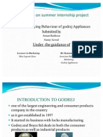 23888351 Ppt on Consumer Behaviour on Godrej Appliances by Maman