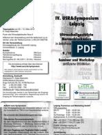 Lipsia 4 Usra Symposium