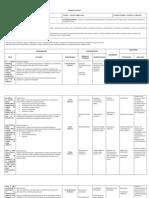 Formato de planeación del  PATCM