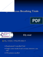 Spontaneos Breathing Trials