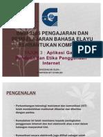 Tajuk3-Aplikasi Garis Panduan Dan Etika Penggunaan Internet