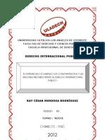 EL PATRIARCADO DE CONSTANTINOPLA Y LAS MISIONES MILITARES EN EL DERECHO INTERNACIONAL PUBLICO