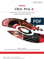 DVDit Pro 6 User Guide