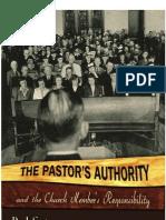 Pastors Authority & Members Responsibility