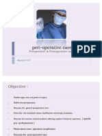 Perioperative Evaluation
