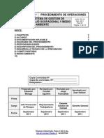 Manual Del Sistema de Gestion de Seguridad y Salud Ocupacional Rv 3 Dic