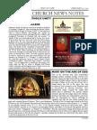 Friday Church News Notes 20120210