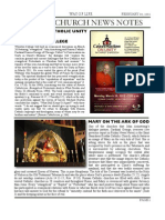 Friday Church News Notes 20120210