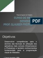 Curso de Web Designer PROF. GLAUBER FREITAS