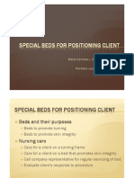 Special Beds for Positioning Client
