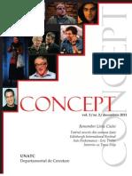 Revista Concept Nr. 3
