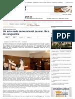 Un acto nada convencional para un libro de vanguardia — eldiadigital.es   Periódico Digital de Castilla la Mancha   Cuenca   Toledo   Albacete   Ciudad Real   Guadalajara